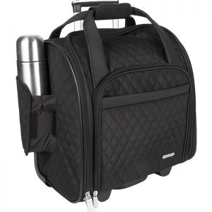 Black Wheeled Travel Trolley Bag Manufacturer