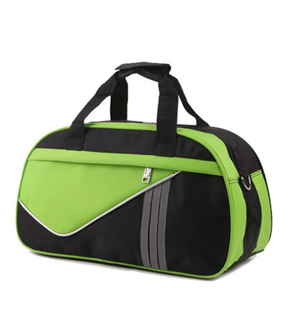 Wholesale Custom Green Nylon Travel Bag