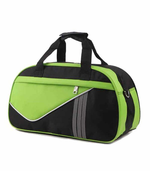 Wholesale Custom Green Nylon Travel Bag