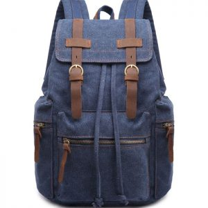 Wholesale Men Travel Canvas Backpack