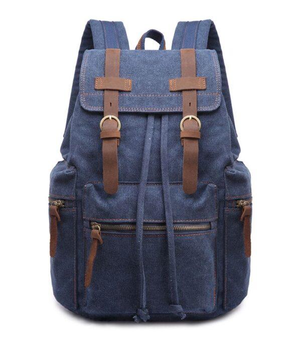 Wholesale Men Travel Canvas Backpack