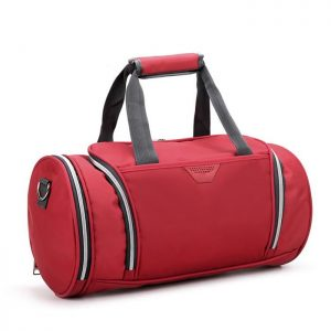 Red Colored Gym Bag Manufacturer