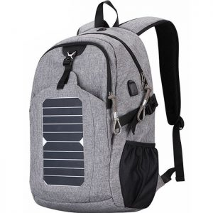 Solar Powered Charger Backpack Distributor