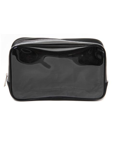 custom waterproof transparent zipper cosmetic bags