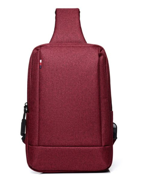 custom sling shoulder messenger bag