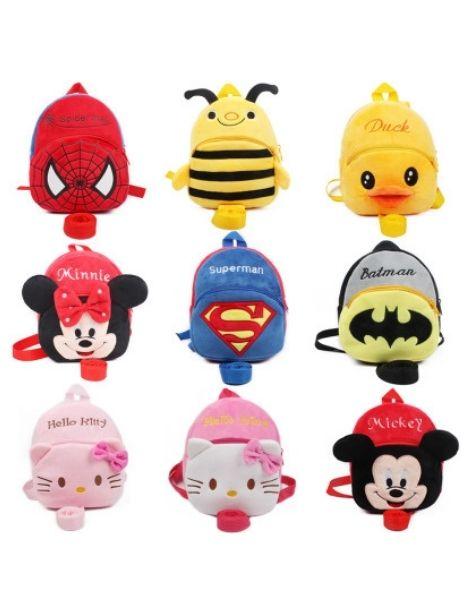 cute animation kids bags wholesale