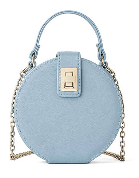 bulk round shaped ladies shoulder bags with chain